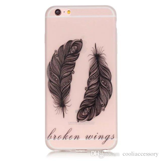 3D Luminous Cartoon Soft TPU Case For Iphone 6 6S Plus 5 SE 5S Huawei P9 P8 Lite Honor 5X Skin Glow In Dark Dandelion Day of the Dead Cover