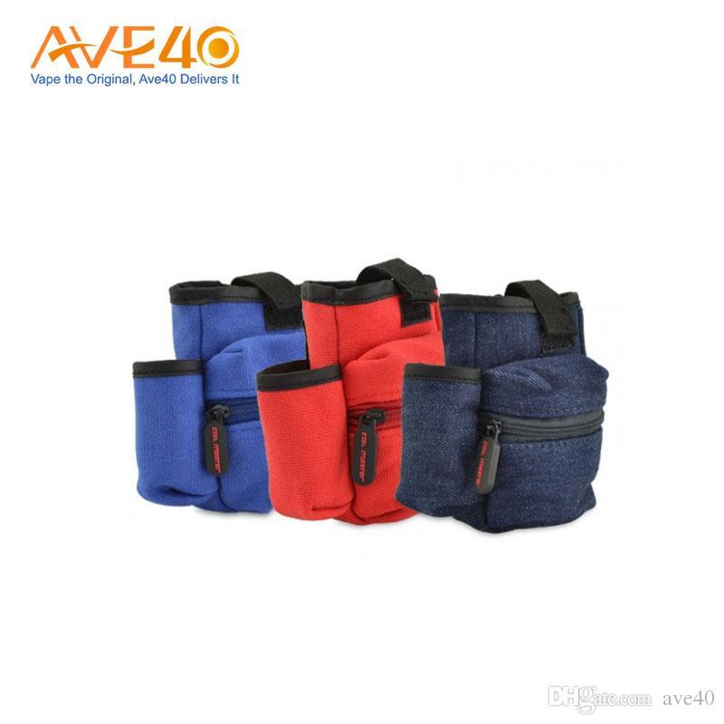 Authenic Coil Master Pbag Vape Canvas Bag Easy for your E Cigarettes Clear Up VS K Bag