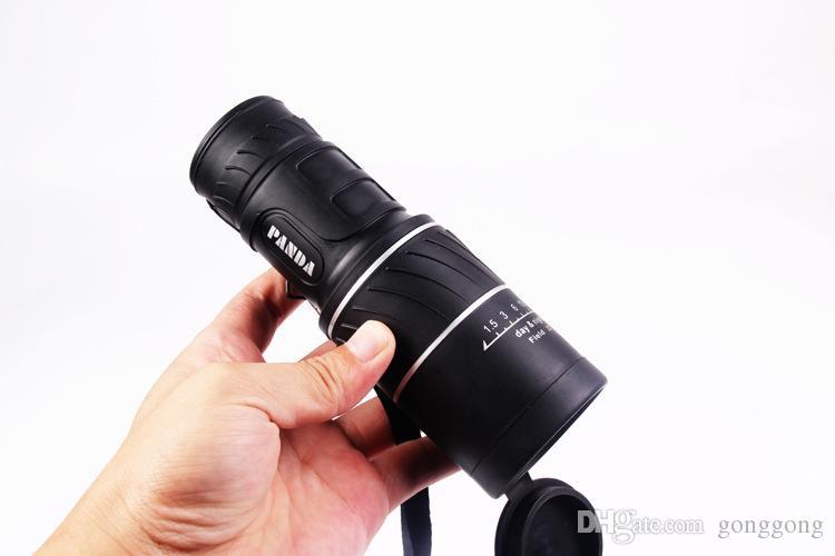 Горячая продажа Регулируемый фокус 10x HD монокуляр телескоп HD ночного видения плюс пылезащитный чехол фотоаппаратура