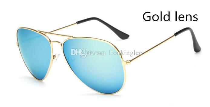 Fashion Sunglasses Classics Multicolour Eyewear Reflective Glasses Oculos De Sol Women Men Brand Designer Glasses Many Colors