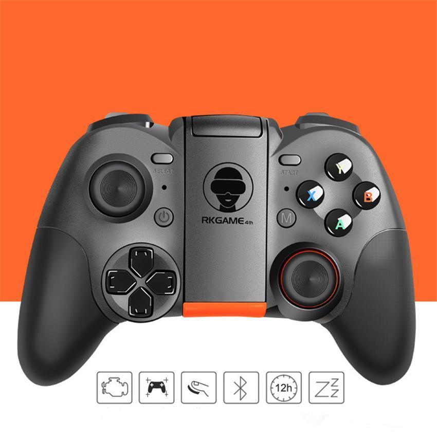 Wireless Bluetooth Gamepads Gaming Controller GEN GAME S5 Joystick Gamepads für Android Smart TV mit Halter