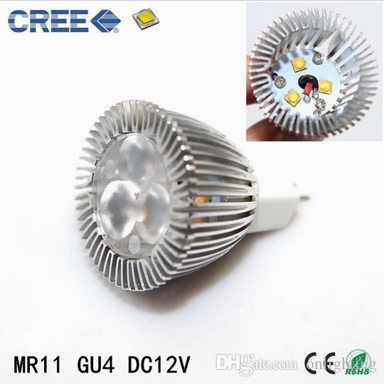 Acheter Mini Led Spotlight Ampoule Mr11 Dc12v 3w Cree Led Spot Lampe