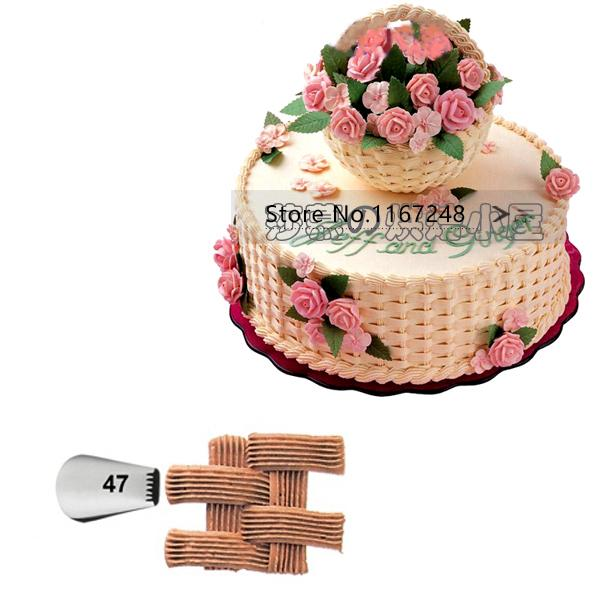 Wholesale Basketweave Basket Weave Tips Cake Decorating