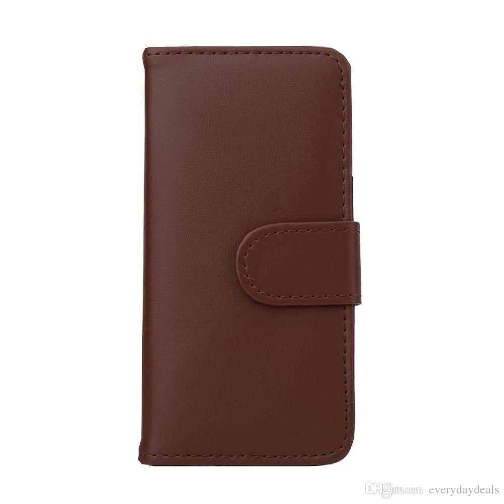 For Apple iPhone 4/4S/5/5S/6/6s/6+/6s+ Samsung Galaxy S3/4&mini S5/6/6E/6E+Note2/3/4/5 New Wallet Flip PU Leather Case Cover