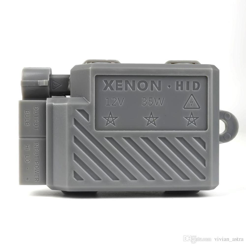 Xenon moto 35W motocicleta hid luces de xenón kit H4 Hi / Lo bombillas de faros universales BA20D H6M 8000K 6000K faros antiniebla lámpara