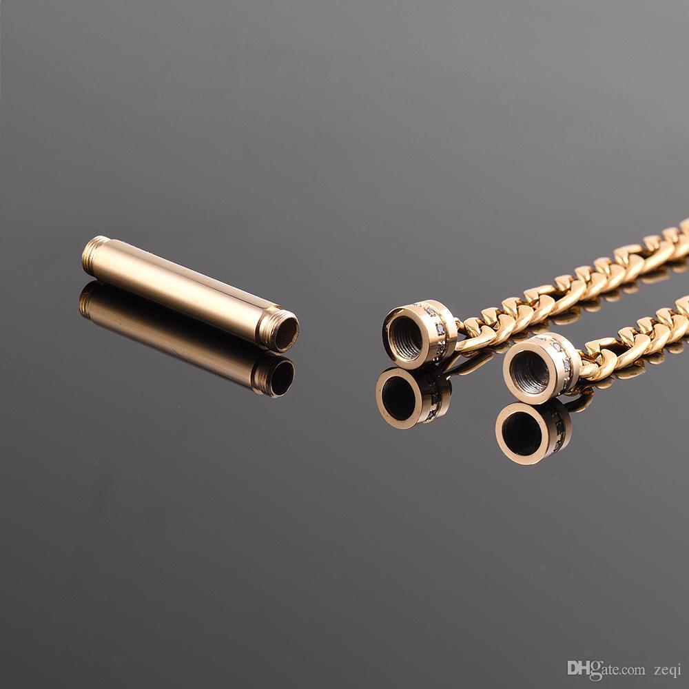 I monili commemorativi dell'acciaio inossidabile del titolare delle ceneri del braccialetto del braccialetto del cremazione delle ceneri dell'animale domestico / delle donne / dell'uomo liberano il trasporto