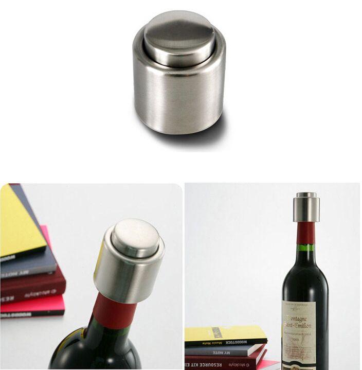 Vendita calda di DHL in acciaio inox bottiglia di vino rosso sigillato sottovuoto becco liquore flusso tappo versare tappo