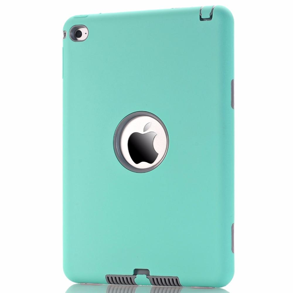Universal Beautiful Defender shockproof Robot Case military Extreme Heavy Duty silicon cover for ipad pro 9.7 2 3 4 5 6 air 2017 mini