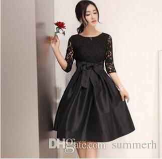 9a8177cc41f9d Hlot sale Women sexy night dresses, summer panelled long sleeve LADY dress  Free Shipping