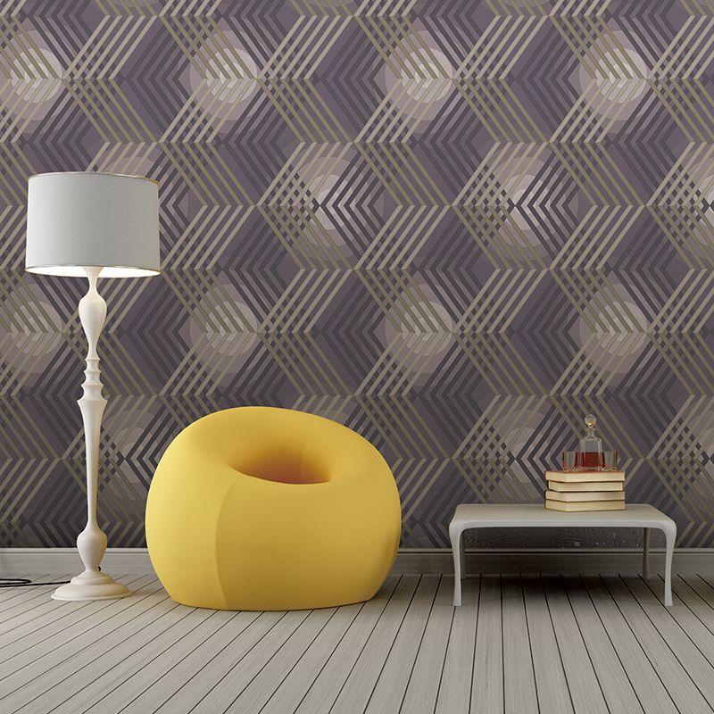 Waerproof t3d embossing textured vinyl wall covering modern pvc wallpaper roll geometric 3d wall paper for home decor y32025 wide wallpaper hd wide