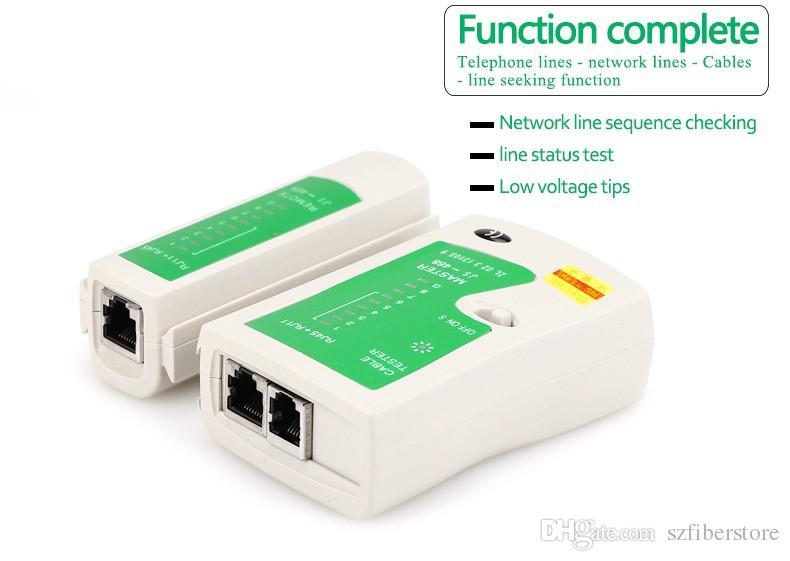 High Quality RJ45 RJ11 RJ12 CAT5 UTP Network LAN Cable Tester Networking Tool Retail JS-468