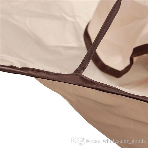 Corte de pelo Doble paraguas Impermeable Adulto Corte de pelo Doble paraguas Cabo Salón Peluquería Peluquería Pelucas Paño especial Pañuelo de pelo