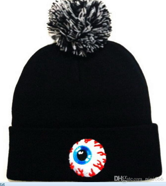 dac18f7619c Fashion Cartoon MISHKA Hat Beanie Street Hip Hop Beanie Winter Warm Hat  Knitted Wool Hats For Women Men Gorro Bonnet Beanies Caps Wholesale  Stocking Cap ...