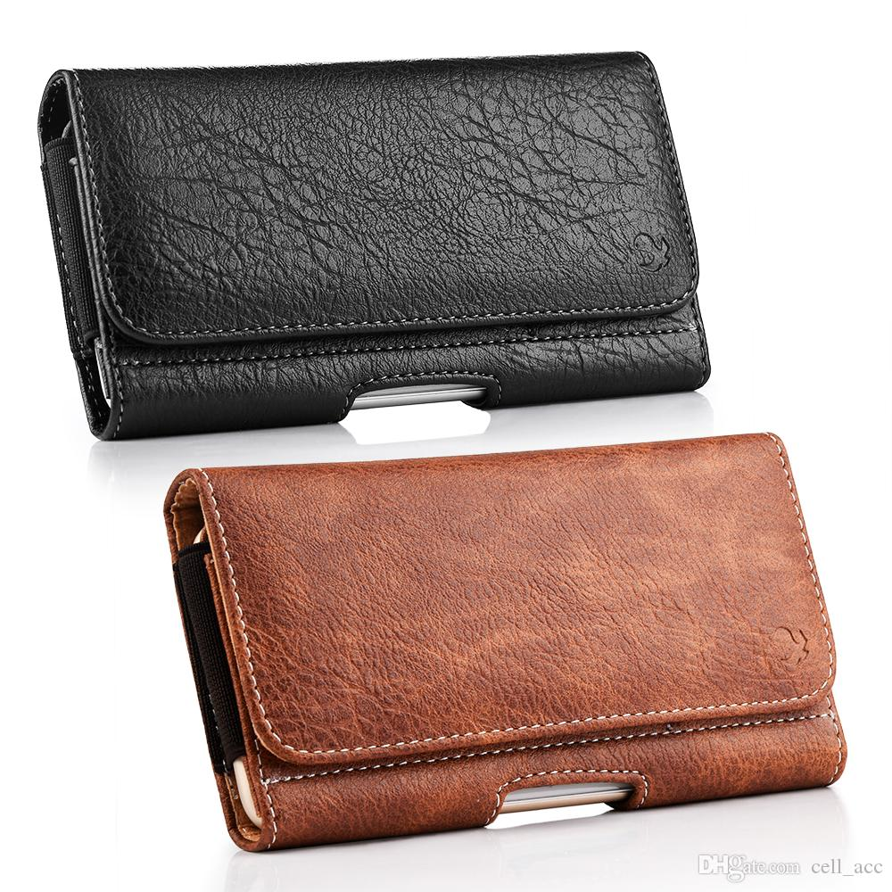 Cell Phones & Accessories Belt Clip Pouch Holster Magnetic Flip Case Cover Holder For Xiaomi Redmi 6