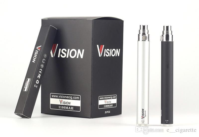 Vision Spinn Batteri Ego Batteri Ego C Twist 650MAH 900MAH 1100MAH 1300MAH Variabel spänning Ego Twist Batteri elektronisk cigarett
