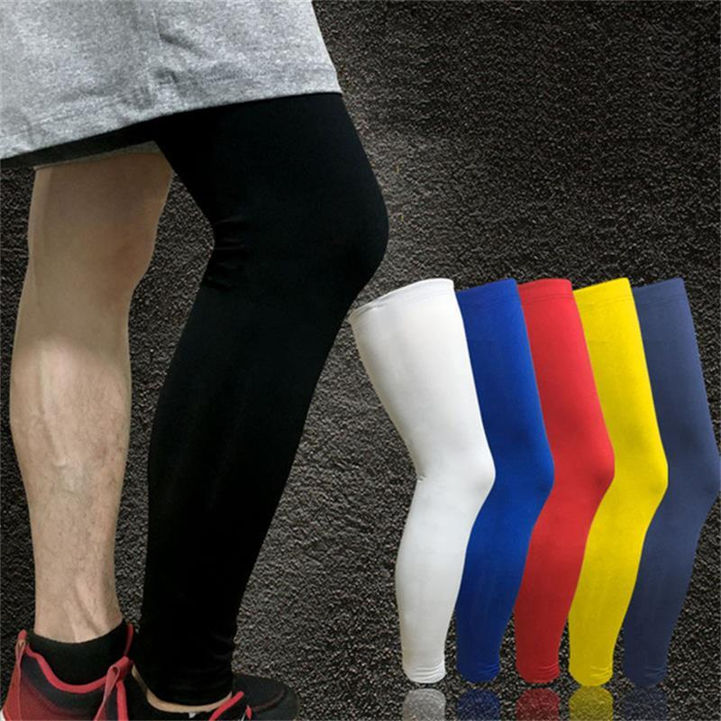 c67cd2c7d6 2019 Knee Pads Professional Basketball Running Fitness Leg Support  Pantyhose Protector Cycling UV Sun Leg Warmers From Kepiwell4, $13.46 |  DHgate.Com