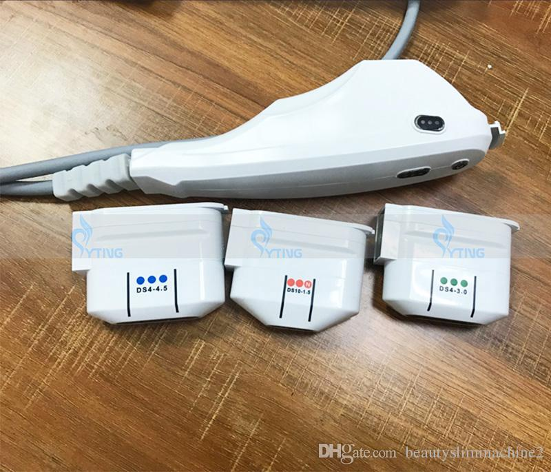 Professionelle HIFU Portable Ultraschall Vaginal Anziehen Glättung Hautverjüngung Facelifting Anti Aging 5 Patronen Beauty Machine