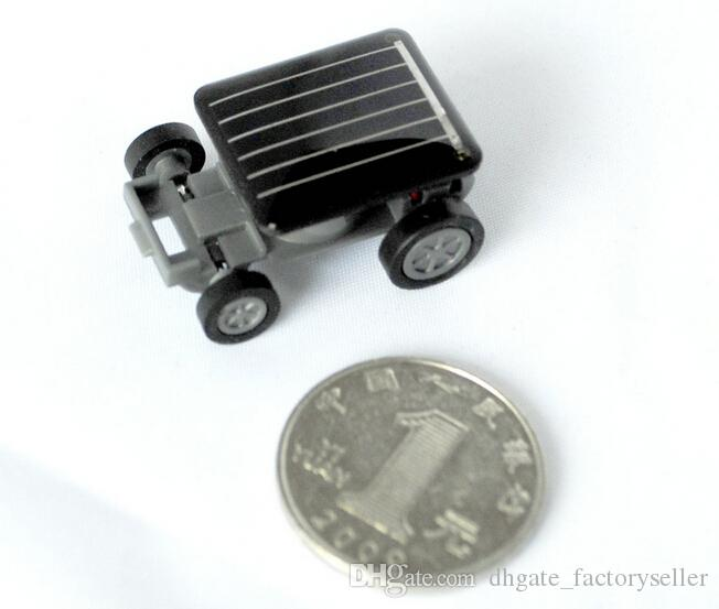 # Mini Smallest Solar Powered Robet Racing Car Moving Drive Car Fun Gadget Toy For Kids