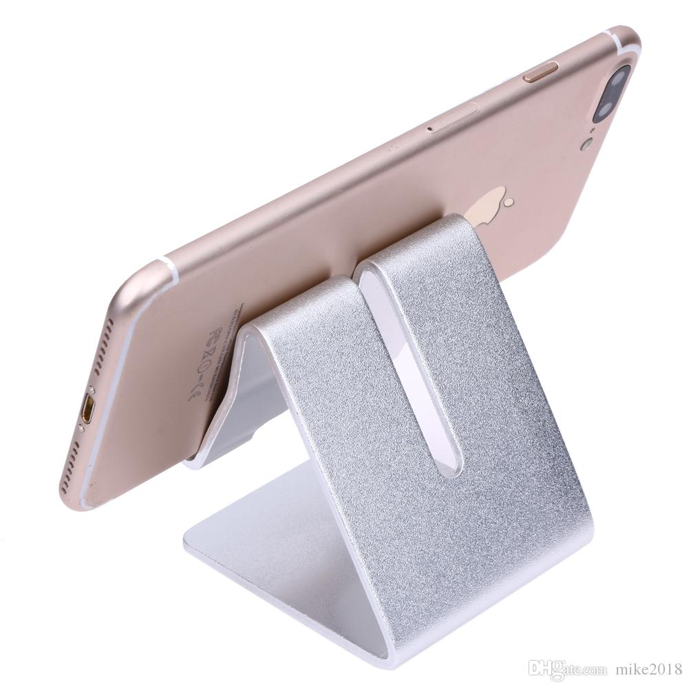Universal Portable Aluminium Alloy Mobile Phone Holder Bed Office Desk Table Holder for iPhone Huawei Xiaomi Tablet Mount Stand