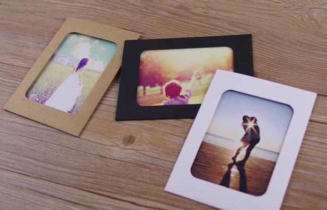 6inch Photo Diy Handmade Cardboard Brief Photo Frame Vintage Photo ...