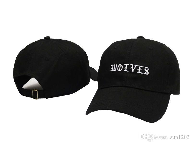 4cde145ef8b Kanye West Wolves Cap Adjustable Kanye West Bear Baseball Caps Gravity  Falls Hip Hop Women Men Snapback Sun Hat Bone Bboy Trucker Caps Flat Bill  Hats From ...