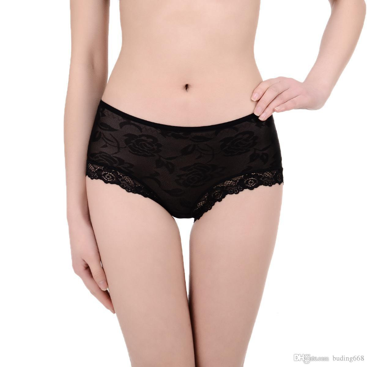 New Sexy satin bikini brief women underwear for Angola market women satin underpants lady panties lingerie intimate undergarment Q1688