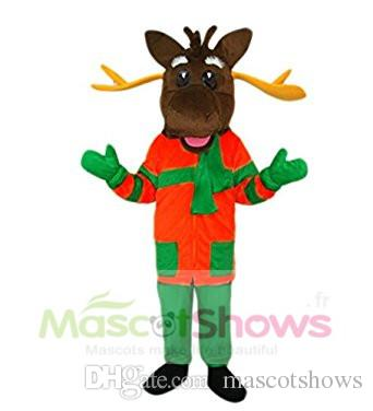 Jumpsuit Mascot Adult Costume Christmas Deer Reindeer Costume Adult Size Animal Party Fancy Suit Mascot Costumes For Sale Cheap Trojan Mascot Costume From ...  sc 1 st  DHgate.com & Jumpsuit Mascot Adult Costume Christmas Deer Reindeer Costume Adult ...