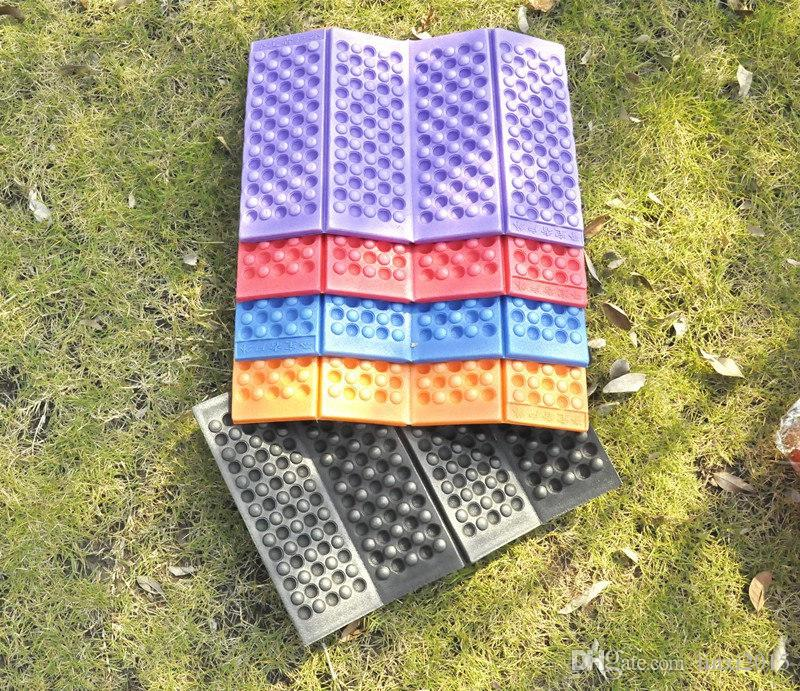 2016 New Outdoor Portable Foldable EVA Foam Waterproof Garden Cushion Seat Pad Chair for outdoor fast shipping