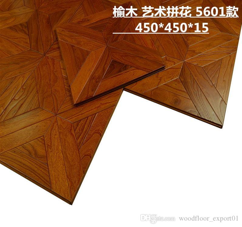 2018 Elm Wood Timber Flooring Parquet Walnut Wooden Floorsolid Woodfloor Room Furniture Cover Staff House Decor From