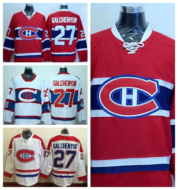 Montreal Canadiens 27 Alex Galchenyuk Jerery 2016 Winter Classic Ice  Galchenyuk Hockey Jerseys Sport Men Team Red Away White Alex Galchenyuk  Jerery ... a0529a51c