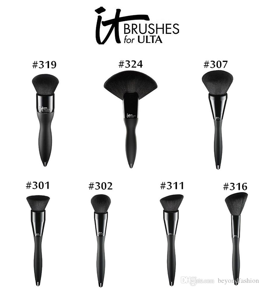 Brand Professional Makeup Brushes 1 pcs it brushes for ulta velvet luxe cosmetics powder fan blending foundation blush contour make up brush