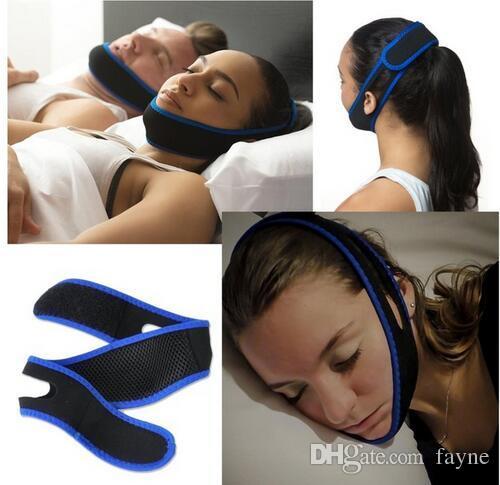 Anti Snoring Chin Strap Neoprene Stop Snoring Chin Support Belt Anti Apnea Jaw Solution Sleep Device