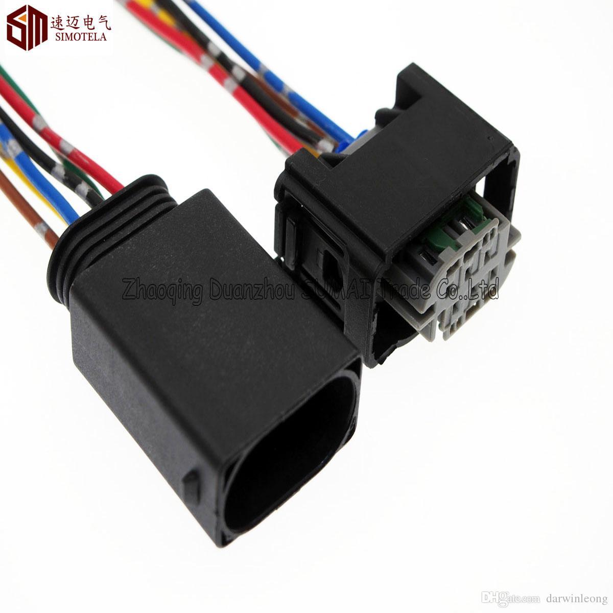 Connettore automatico AMP 6Pin 1.0mm, sensore limitatore / Acceleratore con cavo in rame da 10 cm, connettore elettrico Temp. Auto BMW, Benz, Buick, Hyundai