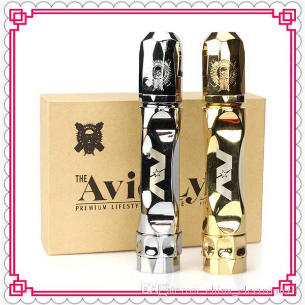 Vaporizer AV Twistgyre Starter Kit Avidlyfe Kit Come with AV Twistgyre Mod and RDA fit 18650 battery Electronic cigarette DHL Free