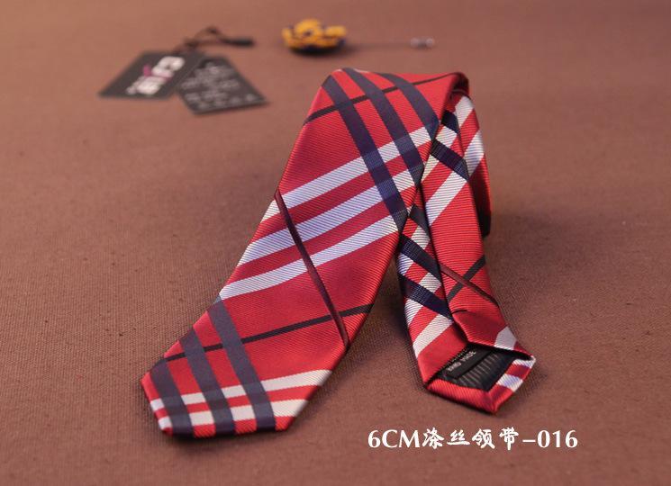 Cravate Jacquard 22 couleurs Stripe Neck Cravate 145 * 6cm pour la fête de mariage des hommes Cadeau de Noël pour la fête des pères Free TNT Fedex