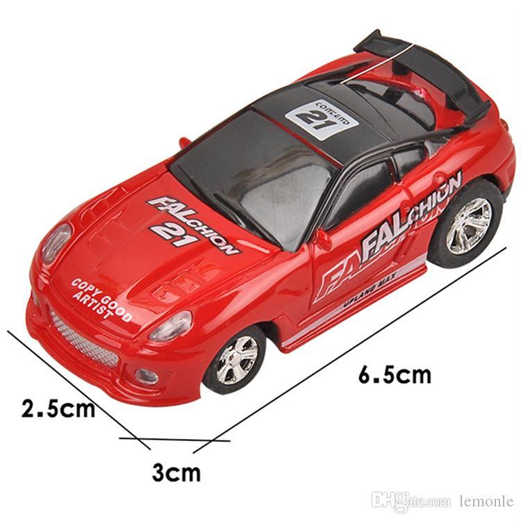 Koksdose Mini RC Funkfernsteuerung Micro Fahrzeug Junge Rennwagen Spielzeug Geburtstagsgeschenk