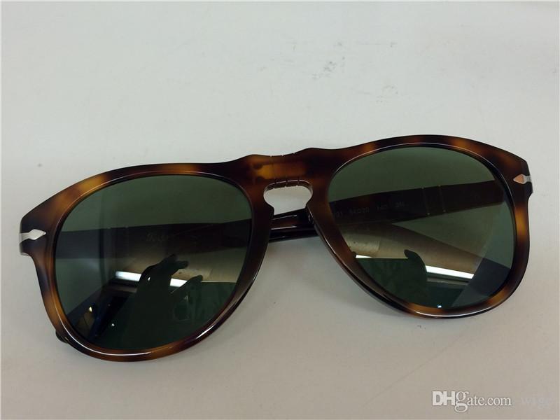 7e7eeb30cac Persol Po 649 Sunglasses Tortoise Havana Green Polarized Lens Sun Glasses  Brand New With Case .
