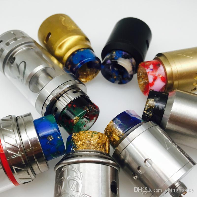 ugello fumogeno elettronico ultima versione 810 gocciolamento in resina portafumo TFV8 trasmettitore peso 2g instock Vendita calda e alta qualità