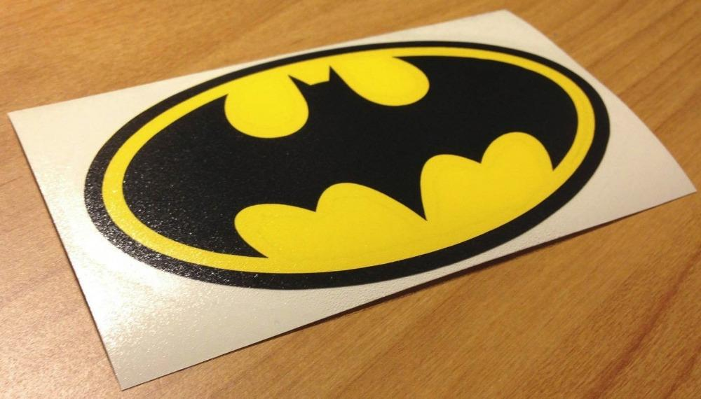 2018 original colored batman logo funny car window funny stickers laptop decal sticker decal reflective sticker reflective silver from mysticker