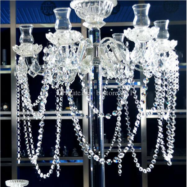 2018 180cm length clear glass chandelier crystal 14mm octagon beads 2018 180cm length clear glass chandelier crystal 14mm octagon beads chain chandelier prisms hanging wedding garland chandelier crystal from bbstore2011 aloadofball Choice Image