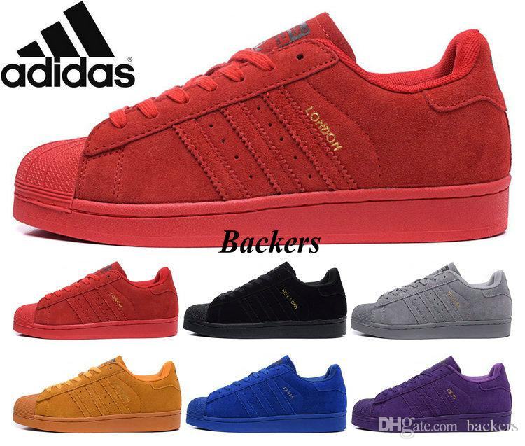 4d734abe95fc adidas superstar 80s city series men red Sale