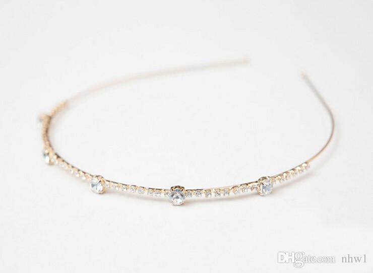 New Hair Jewelry Diamond Bow Korean Small Jewelry Pearl Hairpin Hair Hoop Headband Women Hairband Many Style