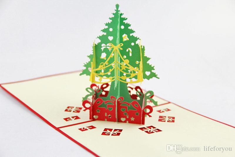 3d tebrik kartı hediye kartları yılbaşı hediyesi yılbaşı dekorasyon yılbaşı kartları tebrik için tebrik kartları pop up tebrik kartı