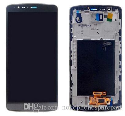 original LCD change glass for LG D855 LCD Display Touch Screen Digitizer Glass Complete Assembly Replacement Pantalla Gray White Gold