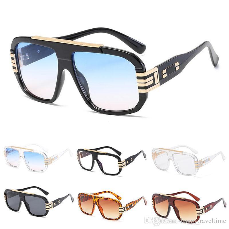 Compre Óculos De Sol Retro Vintage Para Homens Óculos De Óculos  Extragrandes Quadrados De Condução Ao Ar Livre De Happytraveltime,  16.21    Pt.Dhgate.Com fde9ab506d
