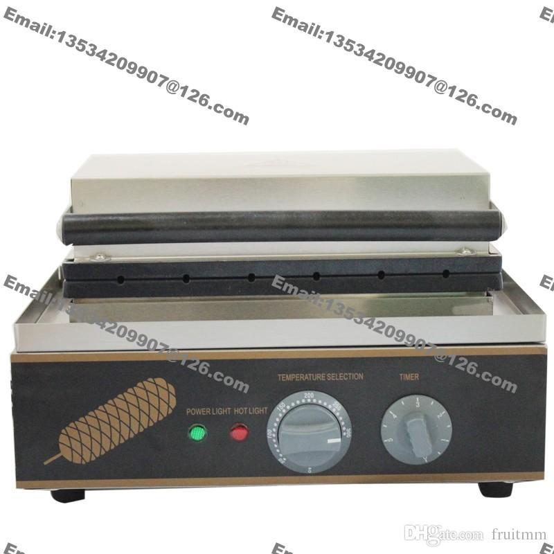 6 قطع الاستخدام التجاري غير عصا 110 فولت 220 فولت الكهربائية اسكيمو الهراء على صانع آلة بيكر عصا