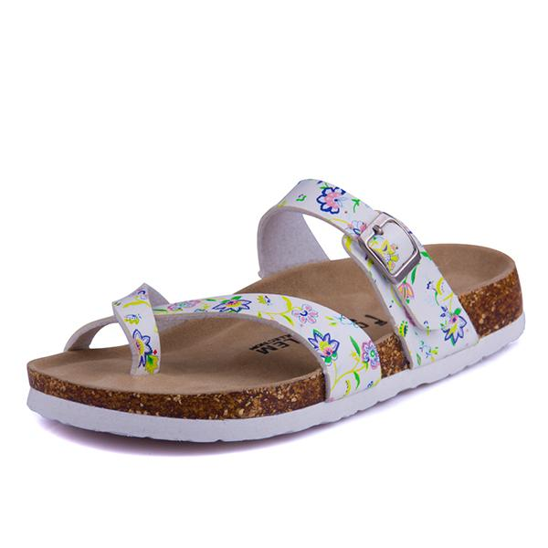 New 2017 Summer Shoes Womens Orthotic Sandals Cork Sandal Good Quality Slip-on Casual Slippers Flip Flop Flats size 4-11