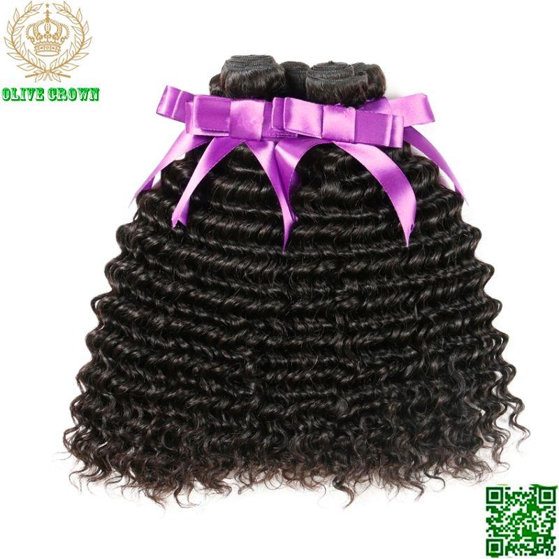 Peruanische Reine Haar Tiefe Lockige 4 Bundles Menschliche Haarwebart Unverarbeitete Remy Haareinschlagfaden Grade 6A Menschenhaar Extensions Bundles