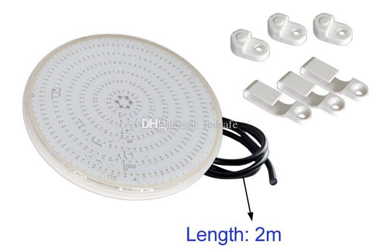 AC 12V RGB LED PISCINAS 18W 24W 30W 35W 42W في الهواء الطلق مقاوم للماء IP68 حمام سباحة أضواء نافورة الذاكرة تزامن وظيفة CE روش