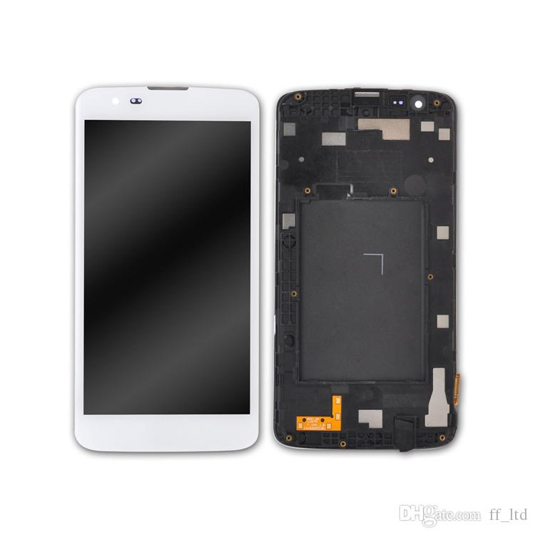 Original LCD for LG K7 K330 MS330 LS675 LCD Display Digitizer Touch Screen Full Assembly with Frame Replace 100% Tested
